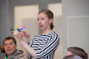 Mirjami Sipponen-Damonte, sertifoitunut Lego® Serious Play® -menetelmän fasilitaattori